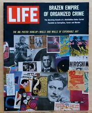 Life Magazine - Sept. 1, 1967 - Pop Art posters on cover - Rock & Movie wall art