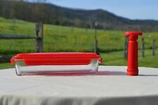 New listing 2 Piece Marinator Set by MarkCharles Misilli - Red