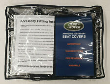 Genuine Land Rover Discovery Sport 3rd Row Black Seat Covers - VPLCS0293PVJ