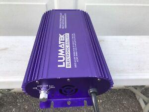 Lumatek 1000w Digital Ballast 120v/240v Dimmable 400w/600w/1000w/super