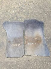 RX7 FC S4 Blue Floor Mats Set Driver And Passenger Used OEM