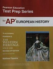 PEARSON EDUCATION - TEST PREP SERIES FOR AP EUROPEAN HISTORY **BRAND NEW**