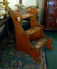 Piccola scala da libreria in legno Liberty