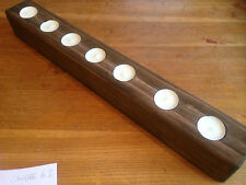 wooden tealight holder. tealight holder wood. wood tea light holder new