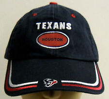 74f3b3961 NFL Houston Texans Reebok Game Day Cap Hat Buckle-Back OSFA NEW!