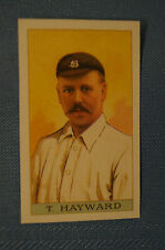 1912 Reeves Chocolates Cricket Prints by County Print 1993 - T. Hayward.
