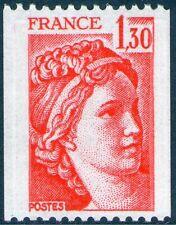 TIMBRE 2063 NEUF XX LUXE - SABINE DE GANDON - ROULETTE