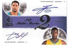2007-08 Upper Deck SP Rookie Threads Auto Chandler/ Wright #MDCW 26/50