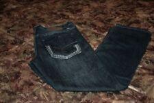 """Men's ROK Denim Workshop Straight Leg Blue Jeans Mid Rise Size 34x32 """"Excellent"""""""