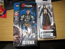 MCFARLANE TOYS GEARS OF WAR 4 JD FENIX AND  Assassin's Creed Arno Dorian Series3