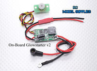 RC On-board Glow Driver Starter v2 Plane Heli Truck. UK Stock, Fast Dispatch!
