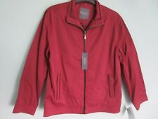 MEN'S CASUAL KINGSTON JACKET, SIZE MEDIUM, COLOUR RED, NEW WITH TAGS