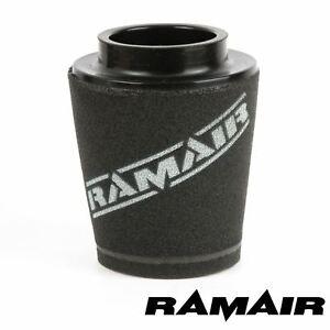 RAMAIR INDUCTION MOUSSE FILTRE À AIR CÔNE UNIVERSEL 70mm DÉCALAGE DE COU 125mm