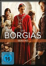 DIE BORGIAS SEASON 1 MB  3 DVD NEU  FRANCOIS ARNAUD/JEREMY IRONS/+