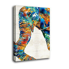 Modern Canvas Wall Art Print Elephant  Painting Home Decor Picture Unframed