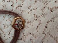 Vintage Original Davy Crockett Bolo Tie Ex Condition