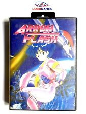 Arrow Flash PAL/EUR Completo Promo Press 1990 Launch SEGA Megadrive Retro Mint