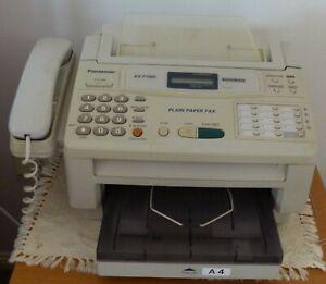 PANASONIC PLAIN PAPER FAX MODEL KX-F100