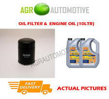 DIESEL OIL FILTER + LL 5W30 OIL FOR TOYOTA COROLLA VERSO 2.0 116BHP 2004-09
