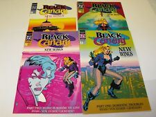 BLACK CANARY NEW WINGS 1-4 1991 DC COMIC RUN SET 1 2 3 4 COMICS TOTAL