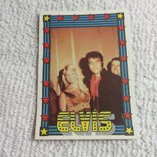1978 Monty Gum - ELVIS PRESLEY - Club Card From Holland - (Blank Back) - Card #9