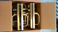 CLEARANCE SALE: VingCard Satin Brass Classic Guest Room Lock Bodies & Handles