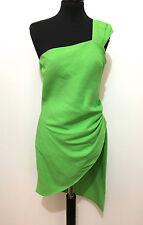 BYBLOS Abito Vestito Donna Lino Rayon Linen Flax Woman Dress Sz.S - 42