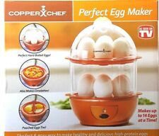 Copper Chef Electric Egg Cooker  As Seen On Tv  Fast Shipping  New NOT BOX !!