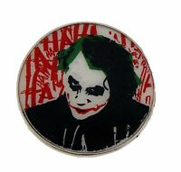 Batman Joker Belt Buckle Usa American Superhero Comics Icon Metal Western Gothic