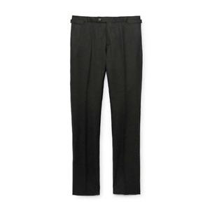Men's Hackett, Mayfair Plain Flannel Trousers in Moss Green