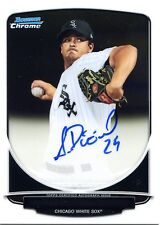 2013 Bowman Chrome Andre Rienzo On Card Autographed Prospects BCA-AR White Sox