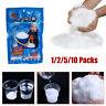 Fluffy Instant Xmas Magic Snow Artificial Fake Powder Kids Fun Christmas Decor