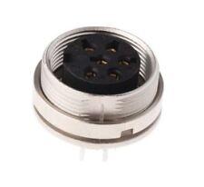 Lumberg KGR Series, 6 Pole Din Socket Socket, DIN EN 60529, 5A, 250 V ac IP40