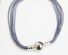 Gen Pandora Multi-strand String Bracelet Grey - 590715CGY-M3 20cm - retired