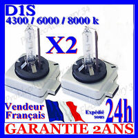 2 AMPOULE BI XENON D1S 35W HID LAMPE FEU PHARE D ORIGINE 4300K 5000K 6000K 8000K