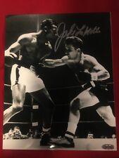 Boxing Legend Jake LaMotta  signed 8 By 10