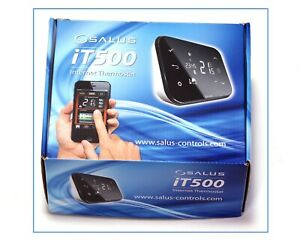 SALUS IT500 INTERNET THERMOSTAT SMART PHONE WIRELESS PROGRAMMABLE HEATING ZONES