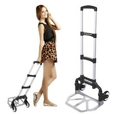 Portable Folding Hand Truck Dolly Luggage Carts, Handling/Travel/Shopping EH7E