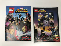 LEGO Super Heroes Mini Comic Book Lot Captain America Civil War Superman