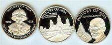 HISTORY OF ASIA 2004-2005 COOK ISLANDS DOLLAR 3 COIN PROOF SET