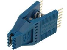 Prueba POM-5250 CLIP SOIC PIN8 Fila Azul Enchapado en Oro 10.92/6.6mm Pitch 5250 POMONA