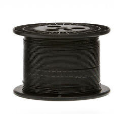 "18 AWG Gauge Solid Hook Up Wire Black 250 ft 0.0403"" UL1007 300 Volts"