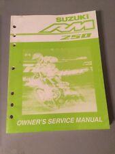 Suzuki RMZ60 RM Z50 Factory Service Manual