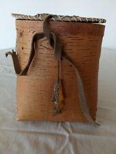 Replica Birch  Bark Fishing Basket