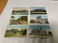New Bedford Ma Postcard Lot of 6 Different Early 1900s Cards