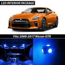 Blue Interior LED Lights Package Kit for 2009-2017 Nissan GTR GT-R