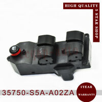 35750-S5A-A02ZA Window Master Control Switch Left for 2001-2005 Honda Civic 1.7L