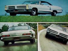 1966 PONTIAC CATALINA 2+2 ORIGINAL FULL PAGE AD *421 Tri-Power V8 engine*/block