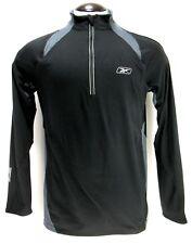 Reebok - Track Suit Top Pullover - Half Zip - Premier Running - Blue - Size M