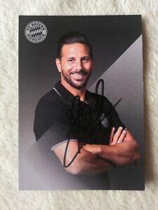 Claudio Pizarro FC Bayern München 2021 Handsigniert, neu rar, Legenden